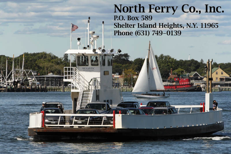 North Ferry to Shelter Island and The Hamptons